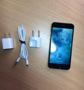iPhone 6s 64 GB Space Gray+чехлы