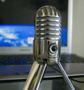 Samson meteor студийный конденсаторный микрофон
