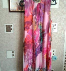 Платье коктейльное р-р 46