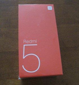 Xiaomi redmi 5 black новый