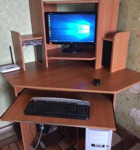 Настольный компьютер+стол