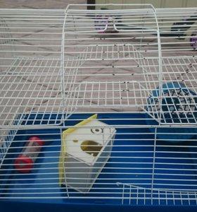 Клетка для хомячков.