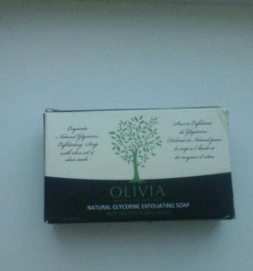 """Натуральное глицериновое мыло """"Olivia"""""""
