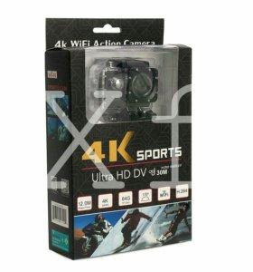 Хит!Action Camera 4K Sports WiFi, новая + гарантия