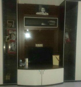 Мебель Шатура,тумба под телевизор, шкаф 4 шт
