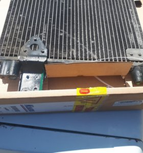 Ман тга радиатор кондиционера