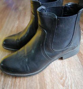 Ботинки сапоги женские осенние