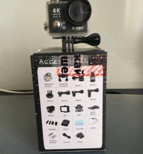 Экшн-Камера X-TRY 4K UHD