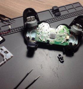Ремонт джойстиков PS3