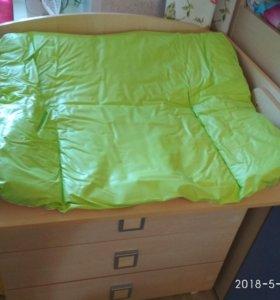 Пеленальный комод с пеленальным столиком