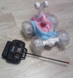 Свинка Пеппа на машинке с пультом управления