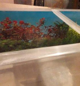 Аквариум оргстекло 100 литров с панорамой