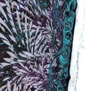 Новый платок натуральный шелк