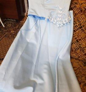 Платье в пол (40-42)