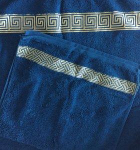 Махровые полотенца (новые)
