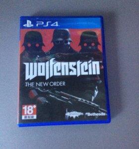 Игра на PS 4 Wolfenstein