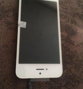 Дисплей для iPhone 5s, 5se хорошее качество ААА