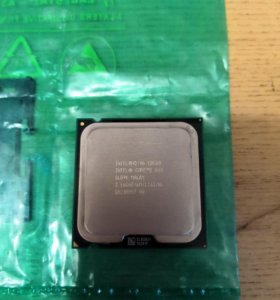 Intel core 2 duo e8500 + кулер