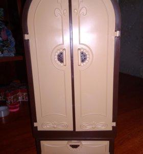 Шкаф для кукол от завода Огонёк