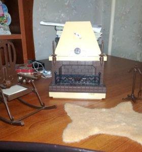 Каминная для кукол от завода Огонёк