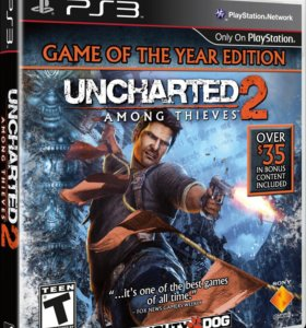 Uncharted 2 Sony PS3 Playstation 3