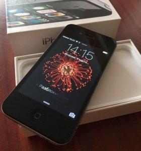 iPhone 4s/16 Gb Black Новый