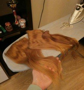 Натуральные волосы для наращивания - славянские.