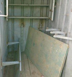 Контейнер металлический 3 тонник вагон бытовка