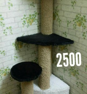 Когтеточки и домики для кошек. КОЛПИНО.