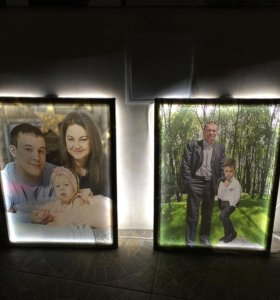 Портреты с подсветкой