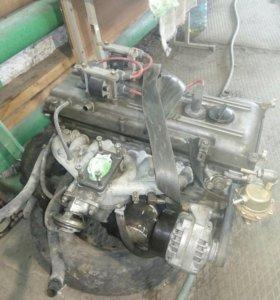 Двигатель 406 в сборе карбюратор в отличном состо