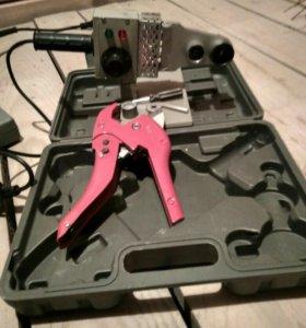 Сварочный аппарат ПП труб 20-32мм + ножницы до 42м