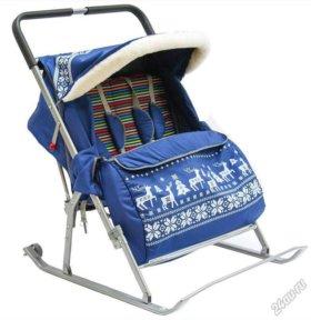 Санки-коляска geburt