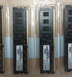 Оперативная память DDR3 4шт по 2 Гб
