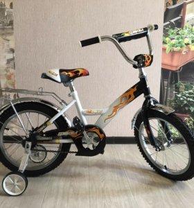 Велосипед детский новый 16 дюймов