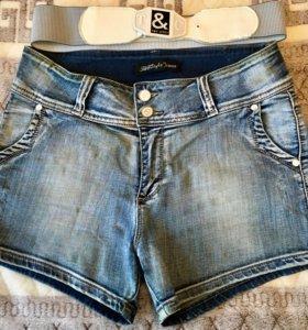Джинсовые шорты 32 размер
