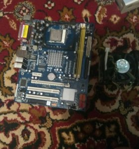 Материнская плата+ процессор+куллер+ оперативная п