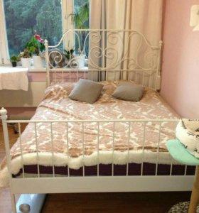 Кровать ikea Лейрвик 160*200