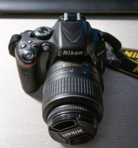 Nikon D5100 Комплект.