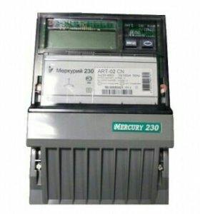 Электро счётчик день ночь Меркурий -230