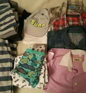 Пакет вещей для мальчика на 8 лет БРОНЬ