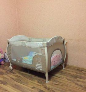Кровать -манеж с рождения