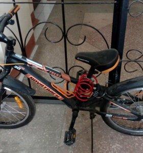 Продам скоростной велосипед novatrack extreme 20''