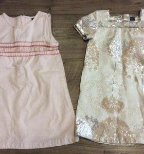 Платья baby gap на 3 года