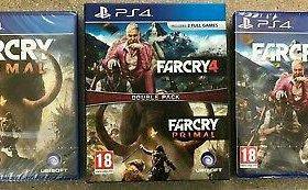 Набор 2-х игр для PS4 Far Cry 4 + Far Cry Primal