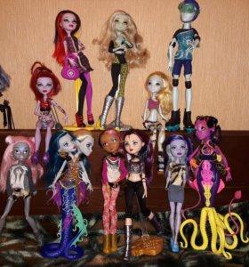 Куклы Monster High в идеальном состоянии
