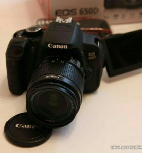 Canon EOS 650D Kit (Объектив 18-55 III DC). Пробег