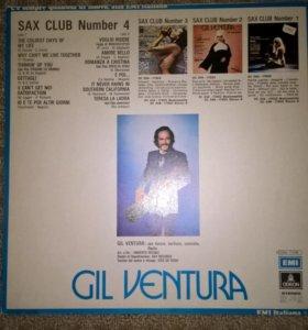 Пластинки GIL VENTURA (made italia)
