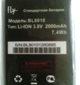 Аккумуляторная батарея для тел.Fly