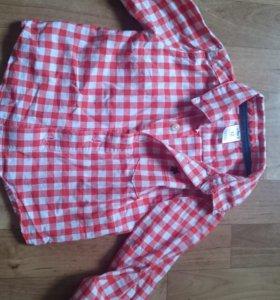 Рубашка 68-74р-р